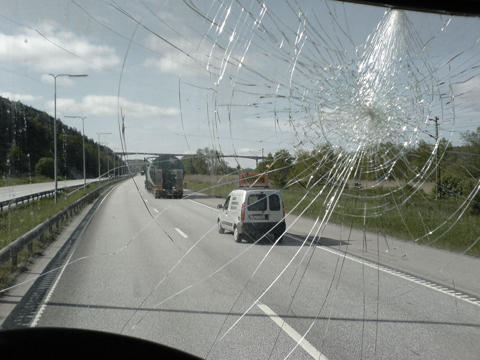 Cracks In The Windshield
